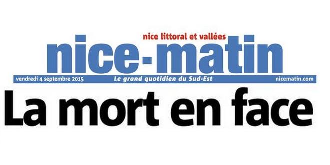 Nice-Matin_titre_4 septembre 2015