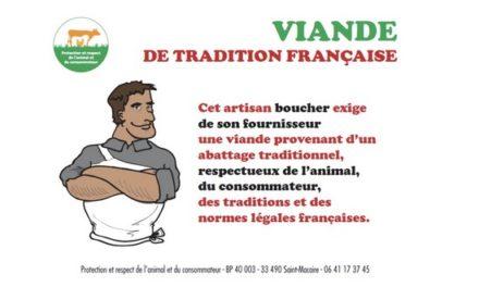Choisissez plutôt la viande de tradition française!