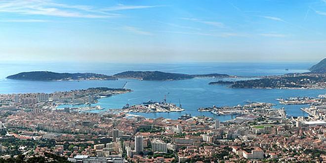 Toulon à laune