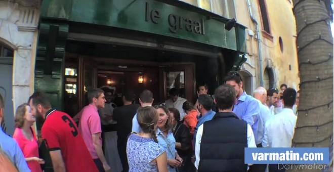 L'évêque de Toulon inaugure le Graal, bar des missionnaires