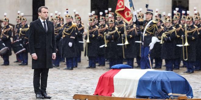 L'hommage au gendarme Beltrame sonnefaux