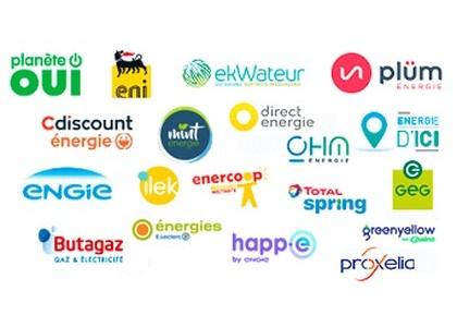 Fournisseurs électricité gaz