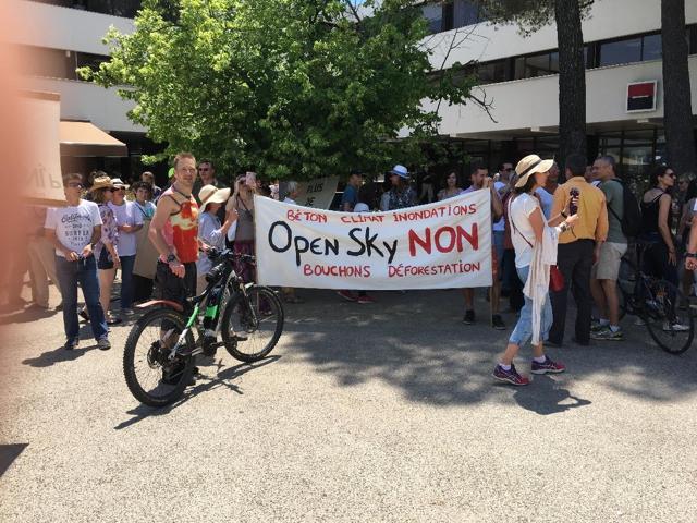 Open sky Non manifestation 6 juin 2019