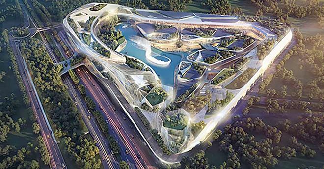 Projet Open Sky Valbonne Parc Valmasque