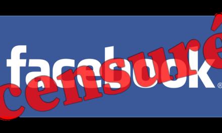 Facebook censure sans raison! Réagissons!