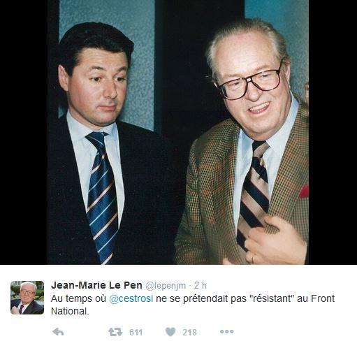 Christian Estrosi - Jean-Marie Le Pen