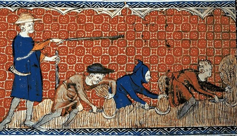 Serfs - Moyen Âge