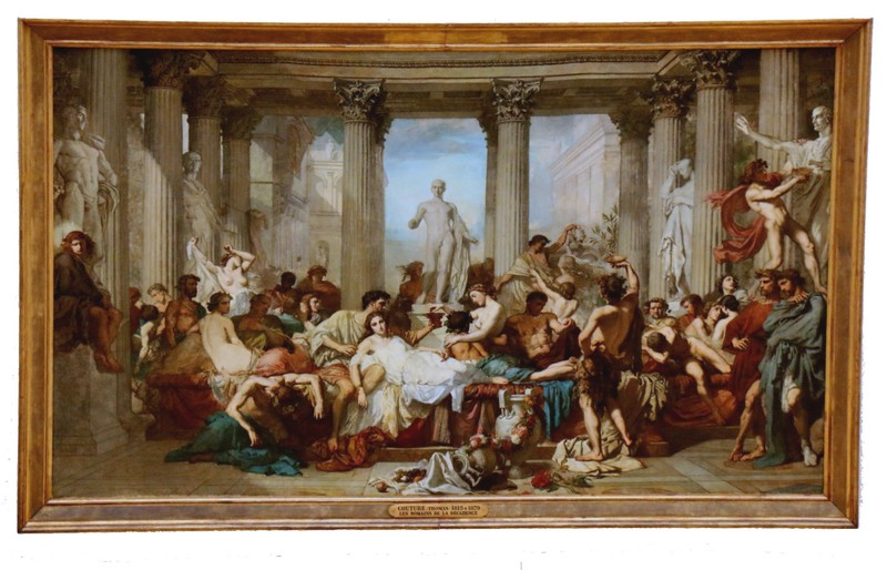 Thomas Couture - Romains décadence