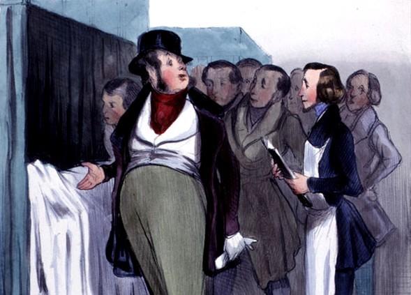 Daumier Clinique docteur Robert-Macaire