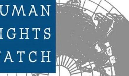 Human Rights Watch: des amalgames répugnants