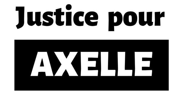 Justice pour Axelle