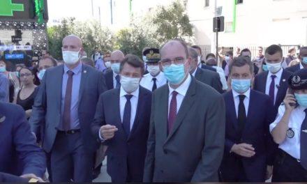 Port du masque obligatoire à Nice,enfin!