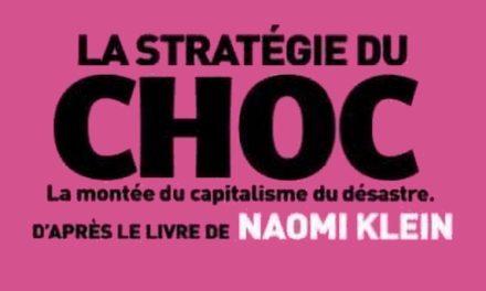 La Stratégie du Choc, le gouvernement avance sespions