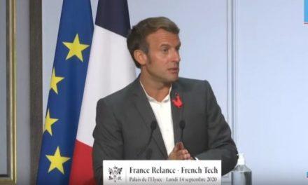 La vue du monde ringarde d'Emmanuel Macron