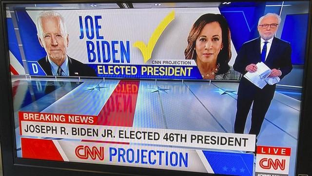 CNN -Biden président
