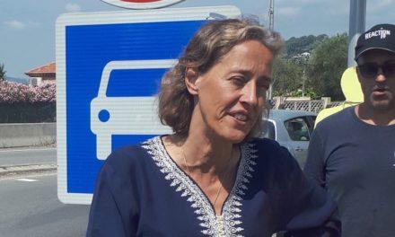 Alexandra Henrion-Caude au Rond-Point de la Victoire