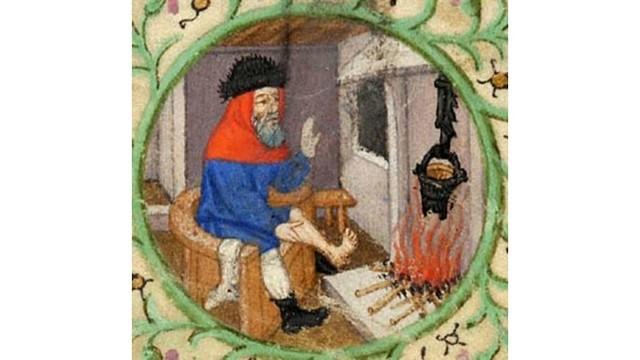 Chauffage - Cheminée - Moyen-Âge
