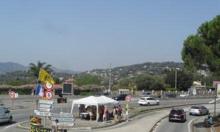 Le camp retranché des irréductibles Gilets Jaunes de Cannes – Antibes