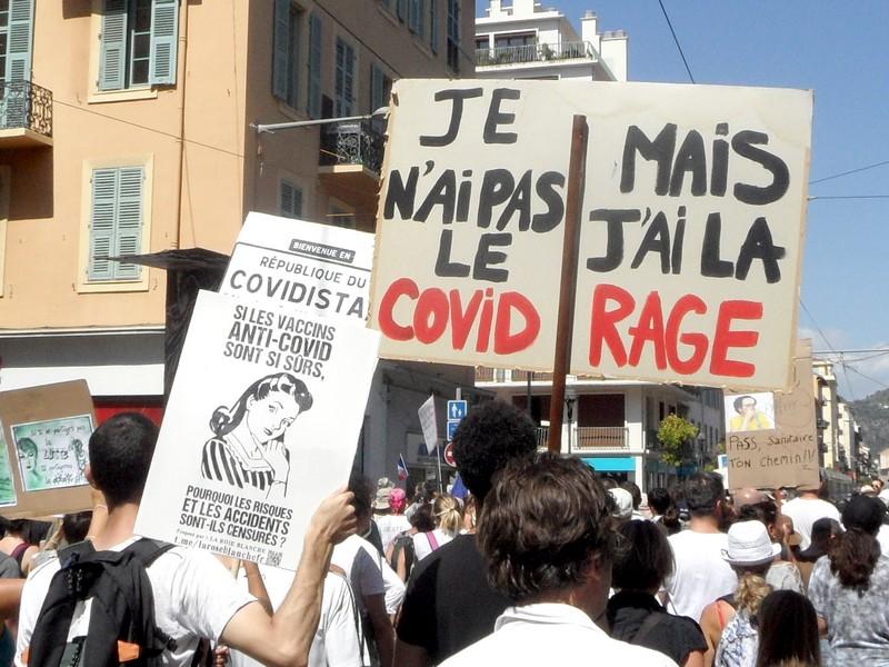 Pas Covid - Rage