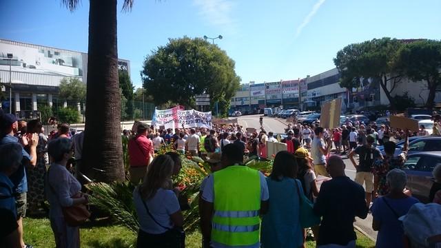 Résistance anti-passeport sanitaire - Antibes 17 juillet 2021 (6)