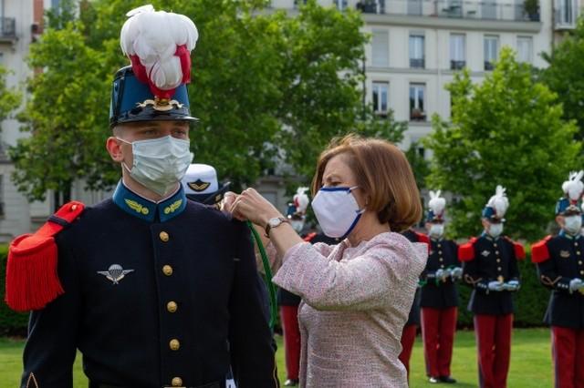 Officier Saint-cyrien - masque