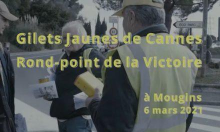 Les Gilets Jaunes de Cannes fontécole