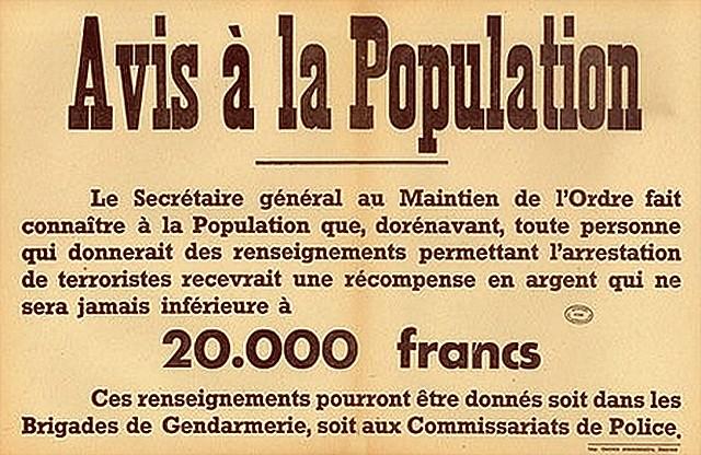 Délation Vichy