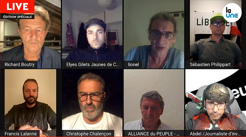 La Une TV - 26 août 2021 - Gilets Jaunes