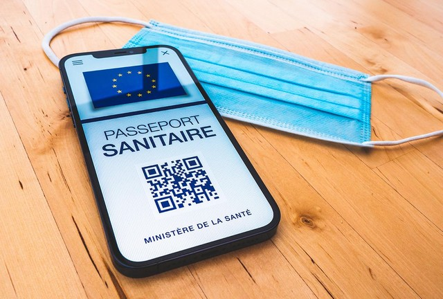 Passeport sanitaire appli