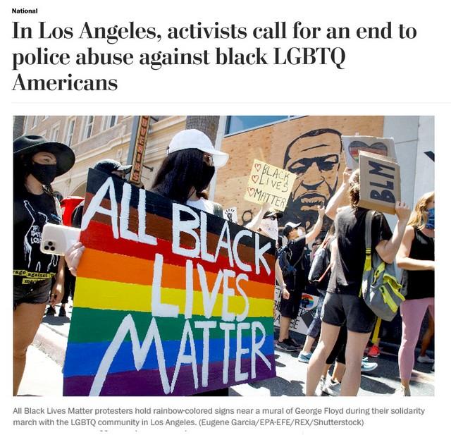 Black Live Matters - LGBT - George Floyd