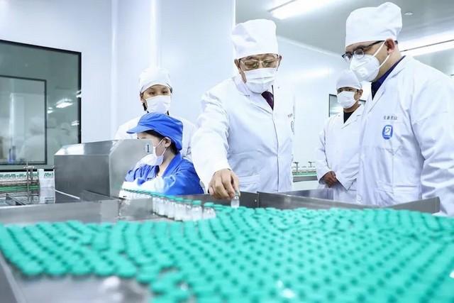 Fabrication usine médicament