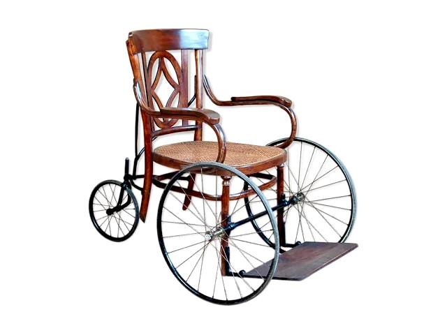 Fauteuil roulant Baumann vintage