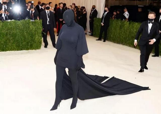 Kim Kardashian - Metropolitan Museum New-York