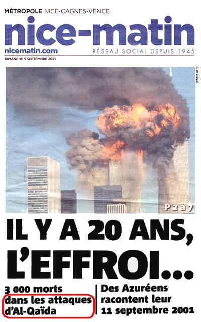 Nice-Matin - 11 septembre