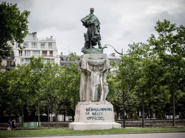 Statue Galliéni - Déboulonnons - Cancel culture - Woke