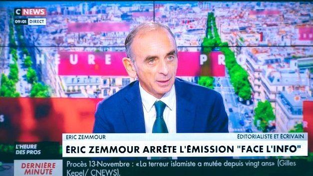 Zemmour à Nice le 18 septembre 2021