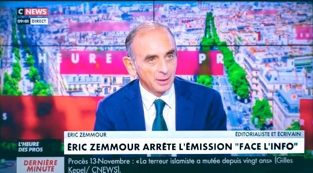 Zemmour - CNews