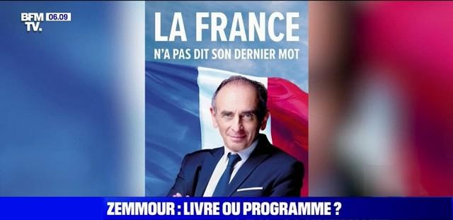 Zemmour - France pas dit son dernier mot
