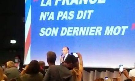 Zemmour à Nice: rock star, essayiste ou candidat?