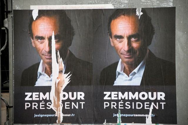 Zemmour Président - affiches