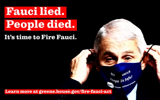 Fauci lied - People died